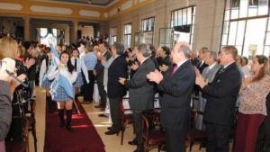 Festejo por los 145 años del Colegio San Martín