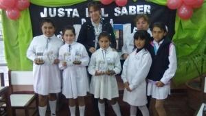 Reconocimiento internacional a una escuela de Sauce por su labor solidaria