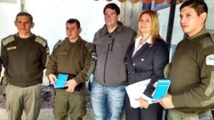 Tras convenio, Gendarmería podrá labrar actas de tránsito