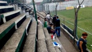 Tras los incidentes, Coprosede suspendió la cancha de Ferroviario