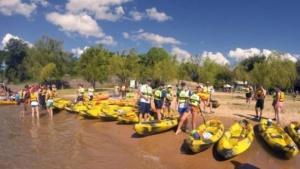 """Sumate a la travesía en kayaks denominada """"Uniendo Playas"""""""