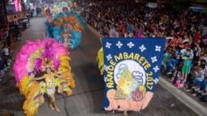 Los Carnavales Barriales estarán esta noche en el Bº Dr. Montaña