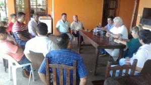 El Partido Demócrata Progresista ratificó su apoyo a Canteros como candidato a gobernador de ECO