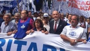 """Rufino en la marcha nacional docente: """"Un reclamo contundente que se escuchó en toda la Argentina"""""""