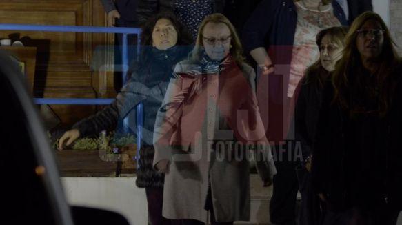 Santa Cruz: docentes bloquearon la salida de Alicia Kirchner