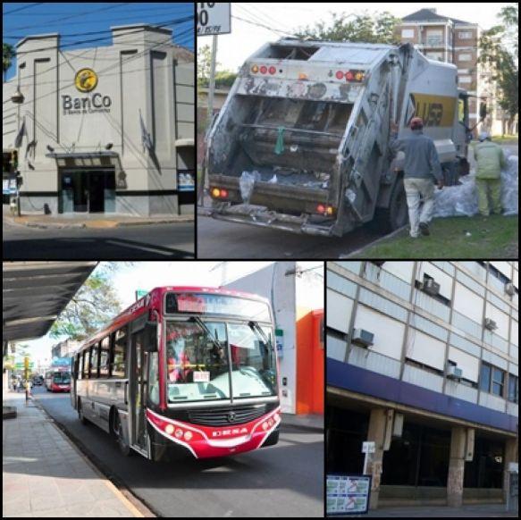 ¿Qué servicios funcionan en Corrientes durante el paro?
