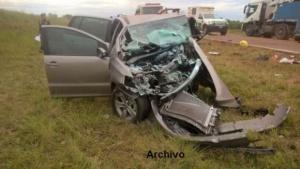Un hombre murió tras el despiste y vuelco de su auto en Virasoro