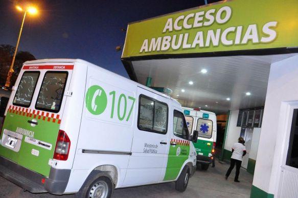 Hospital Escuela: 30 ingresos por siniestros viales y agresiones