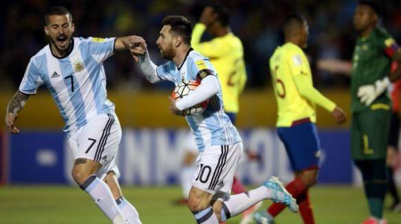 De la mano de Messi, Argentina clasificó al Mundial de Rusia 2018
