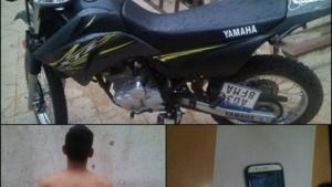 Detuvieron a delincuente que arrebató el celular a una mujer