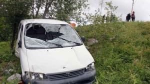 Una mujer murió tras despiste y vuelco cerca de Santo Tomé