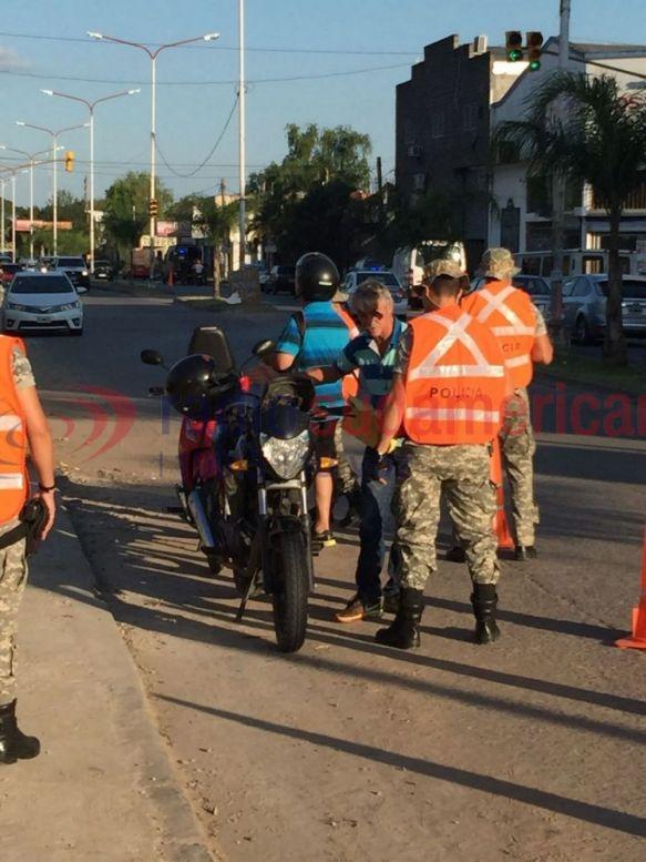 En operativo secuestran 67 motos y demoran a 56 personas