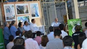Colombi verificó los avances del nuevo Centro Administrativo