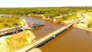 Desde hoy habilitarán el paso del puente bailey sobre Arroyo Guazú