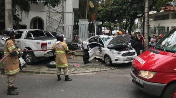 Fatal: dos argentinos murieron en tremendo accidente en Brasil