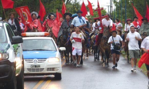Más de 250 efectivos brindan seguridad en el Gauchito Gil