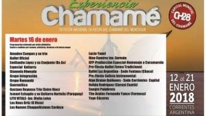 Conocé la grilla de la 5ta noche de la Fiesta Nacional del Chamamé