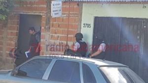 Policías allanaron una vivienda en busca de elementos robados