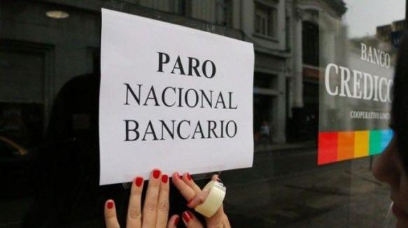 Paro: desde hoy y hasta el miércoles no atienden los bancos