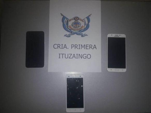 """Adolescente robó celulares y los repartió entre sus """"amigos"""""""