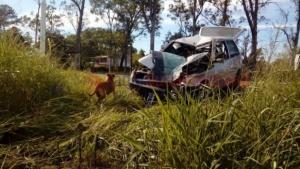 Efectivo policial murió tras colisionar en moto contra un auto