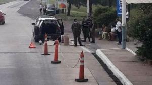 Tras persecucion y vuelvo de un auto, secuestran marihuana pasando el peaje de Riachuelo