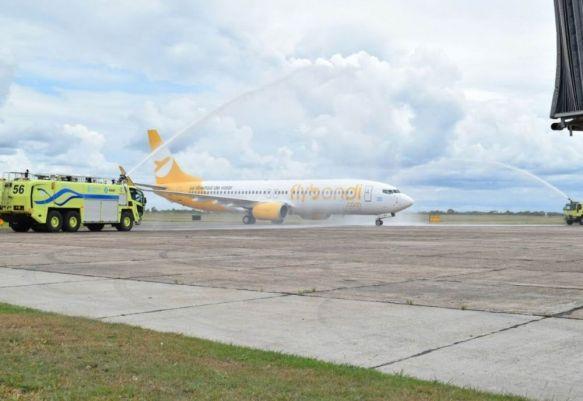 Flybondi canceló su primer vuelo al Aeropuerto de Corrientes