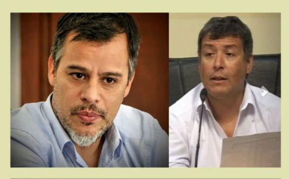 Horacio Rey y Roberto Lugo fueron separados de sus cargos