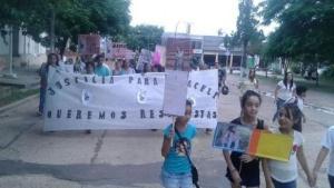 Marcharon para pedir la aparición de Araceli Navarro