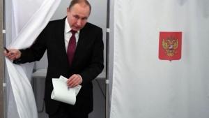 Putin fue reelecto presidente por más del 76% de los votos
