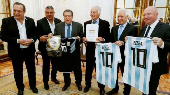Presentaron candidatura al Mundial 2030: Argentina tendría 8 sedes