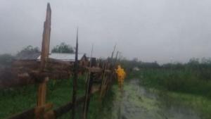 Nación envió asistencia para los evacuados por las fuertes lluvias