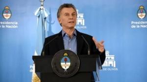 """Mauricio Macri: """"Consideramos superada la turbulencia cambiaria"""""""