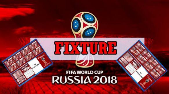 ¿Quién con quién?: El fixture del Mundial Rusia 2018