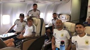 La Selección Argentina ya está en la concentración en Bronnitsy