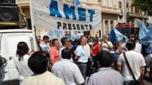 AMET: jornada de protesta en defensa de la educación pública
