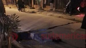 Madrugada trágica: Motociclista murió tras despiste y vuelco