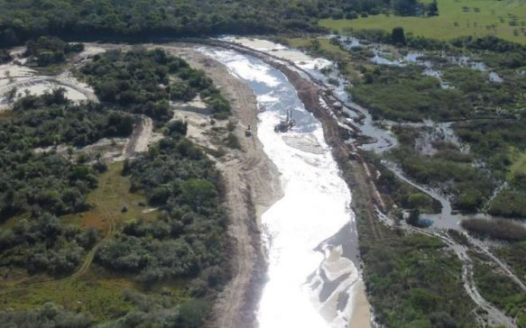 Solicitan que se detenga las obras de dragado en el arroyo Riachuelo
