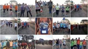 Fotos: Sudamericana junto a los fieles en su peregrinar hacia Itatí