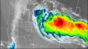 Rige alerta por fuertes lluvias para Corrientes y otras tres provincias