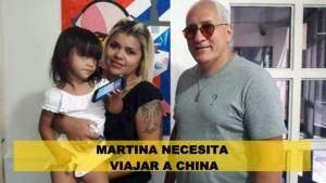 Martina necesita viajar a China para un tratamiento de células madre