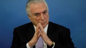 Detuvieron al ex presidente Michel Temer por el caso Lava Jato