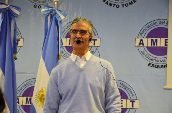 AMET reclama bono de $5.000 en sintonía con el eslogan Nación-Provincia-Municipios