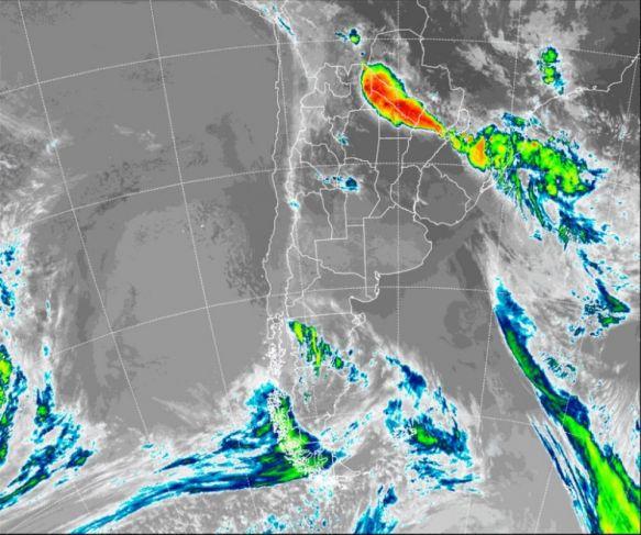 Alerta por tormentas fuertes para el noreste de Corrientes
